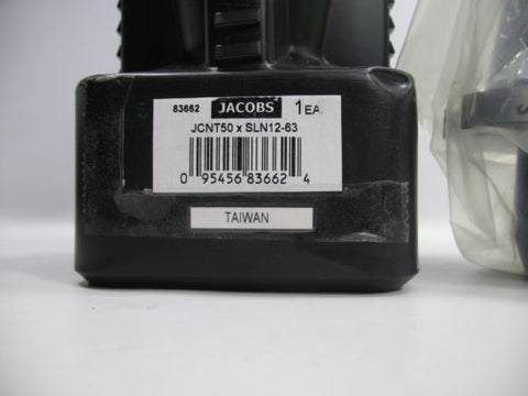 Jacobs JCNT50xSLN12-63 50mm 12mm Diameter 63mm Projection 83662 NEW Chuck Drill