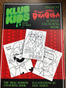 KLUB KIDS DRAG MONSTER COLOURING/ACTIVITY BOOK 2