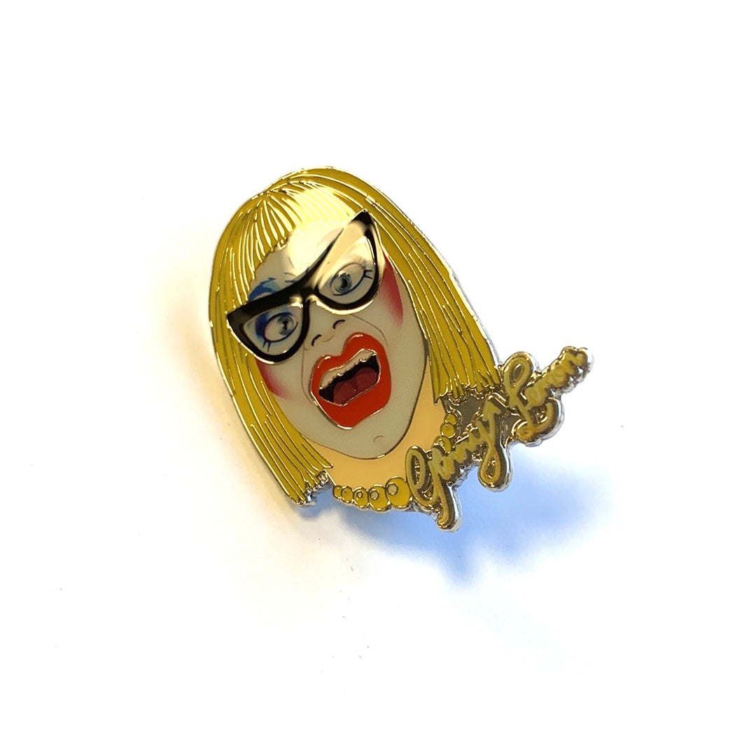 Ginny Lemon Face Pin