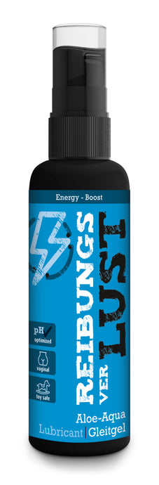 FRICTION LOSS ENERGY - Water-based lubricant with taste (100ml)