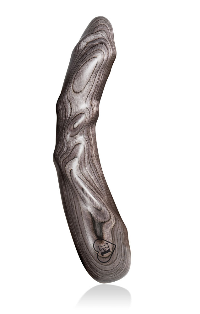 LustHoiz Model One Mr. Grey - G-Punkt Holzdildo
