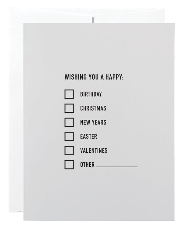 All Occasions Card