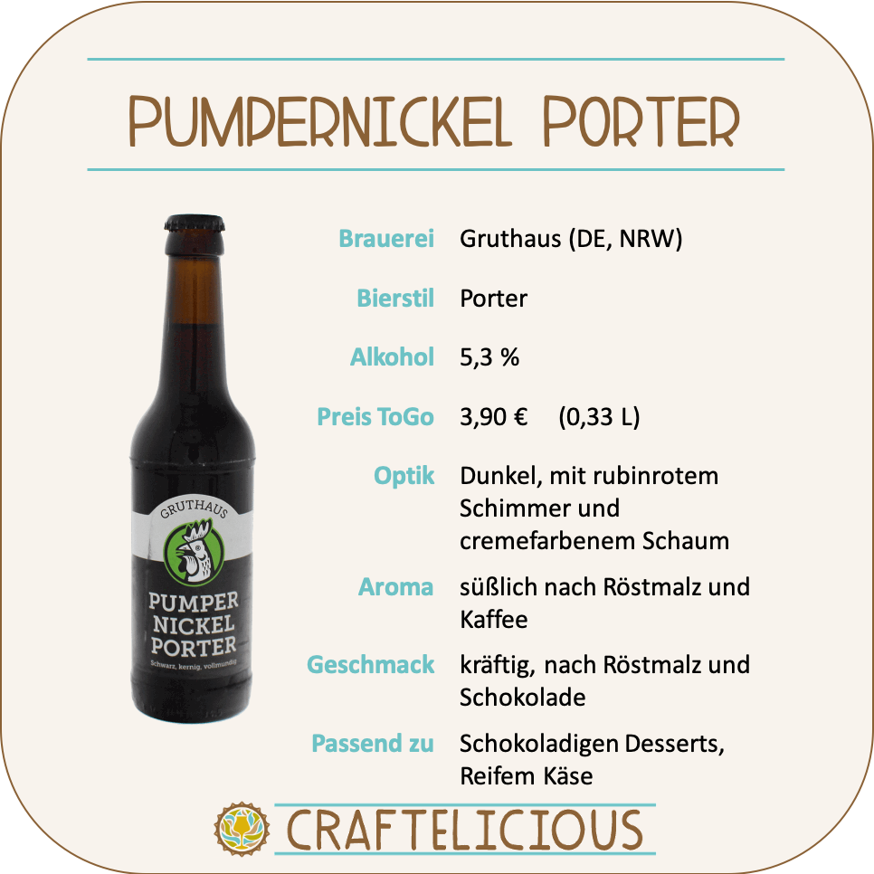Pumpernickel Porter - 0,33l