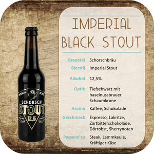 Imperial Black Stout - 0,33l