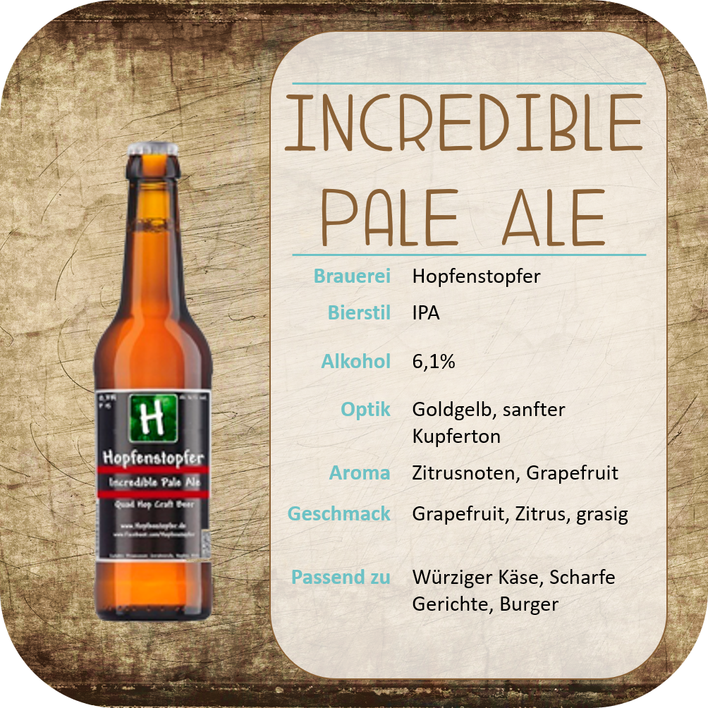 Incredible Pale Ale - 0,33l