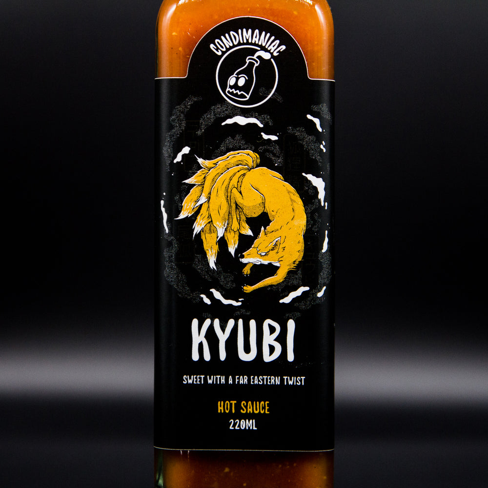 Load image into Gallery viewer, Condimaniac's Kyubi Hot Sauce (220ml)