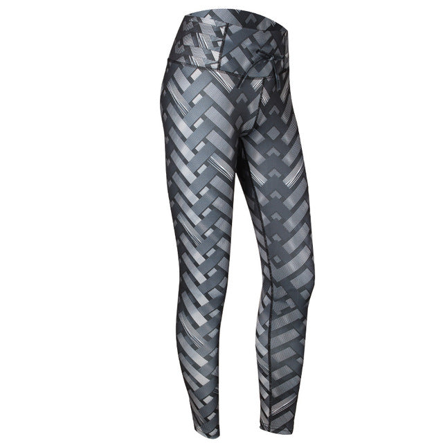 Metal Tire Printed Leggings