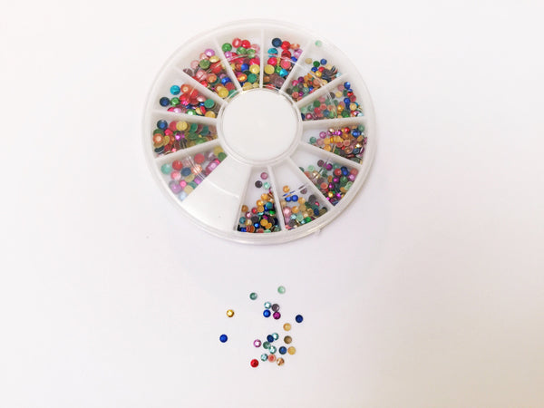 Color Wheel Rhinestones