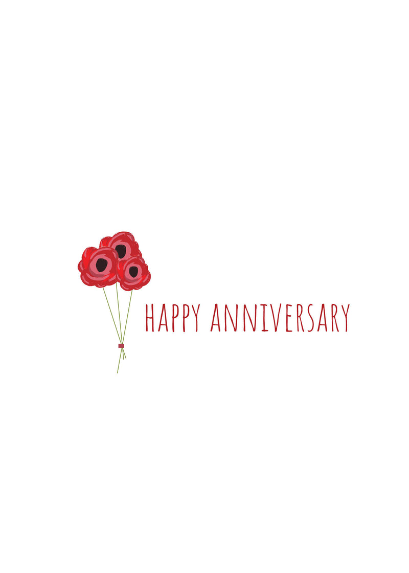 Happy Anniversary Floral