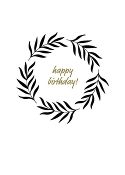 Happy Birthday Farmhouse Wreath