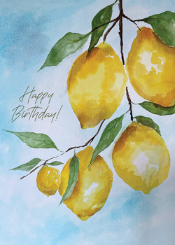 Happy Birthday Lemons