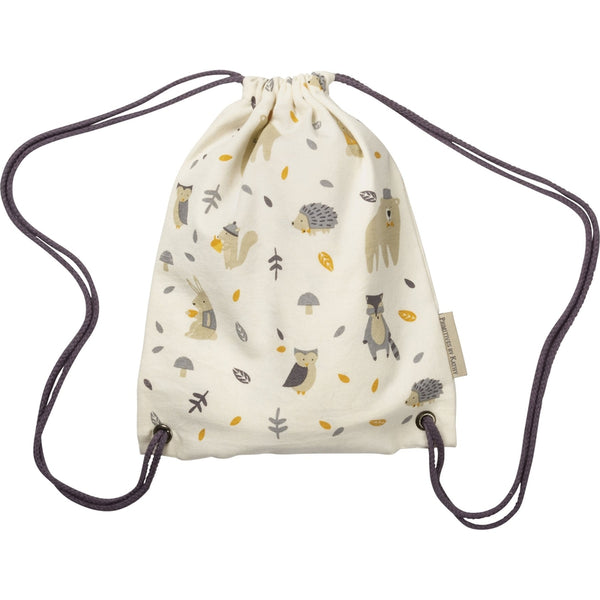 Drawstring Bag - Woodland