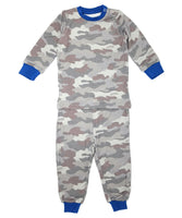 LS PJ Set w/ pants (Gray Camo)