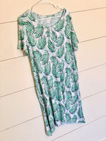 Women's Short Sleeve Gown (The Palmer)