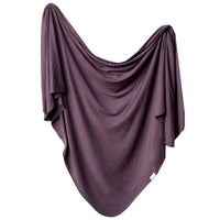 Knit Blanket (Plum)
