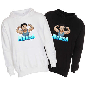 Maxsa blue edition hoodies
