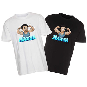 Maxsa blue edition t-shirts
