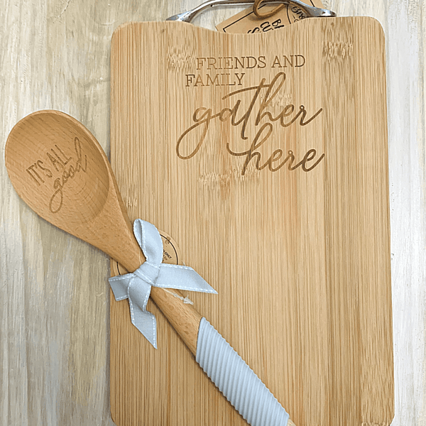 Farmhouse Vintage Kitchen Wooden Spoon with Sentiment