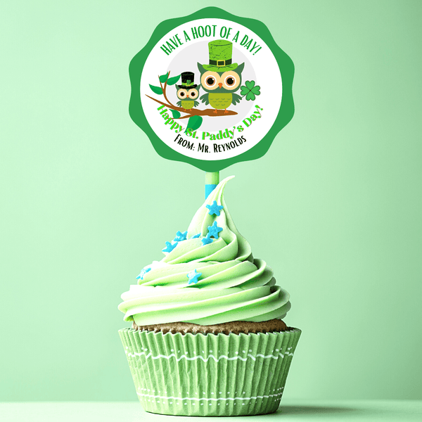 NEW! Easter Party Stickers / Cake Toppers with Treat Bags