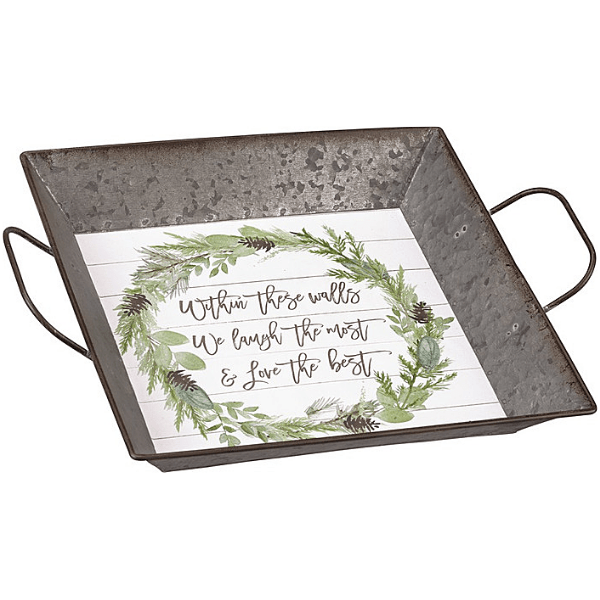 Charming Farmhouse Holiday Tray