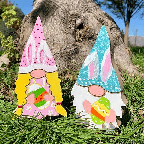 NEW! Spring Holiday Gnome Couple Handcrafted USA