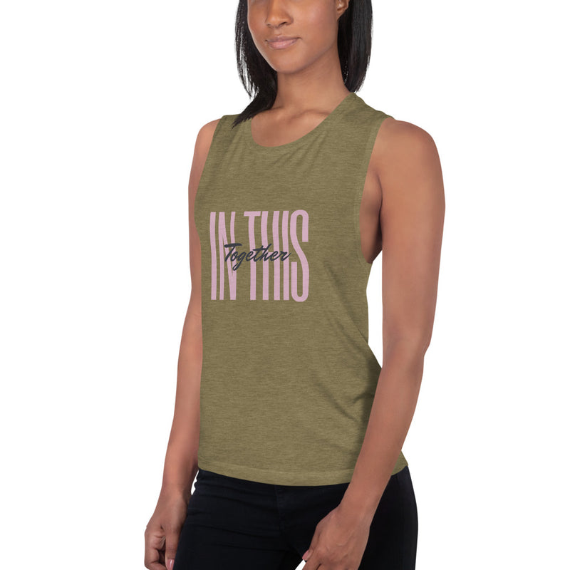 In This Together Ladies' Muscle Tank - Jance Samantha Beauty & Fashion