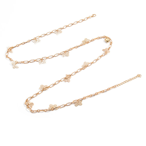 Simple Butterfly Waist Chain - Jance Samantha Beauty & Fashion