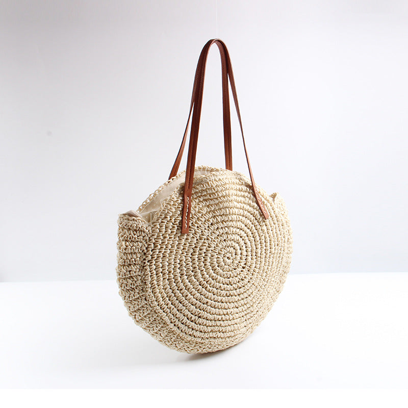 Straw Woven Beach Bag - Jance Samantha Beauty & Fashion