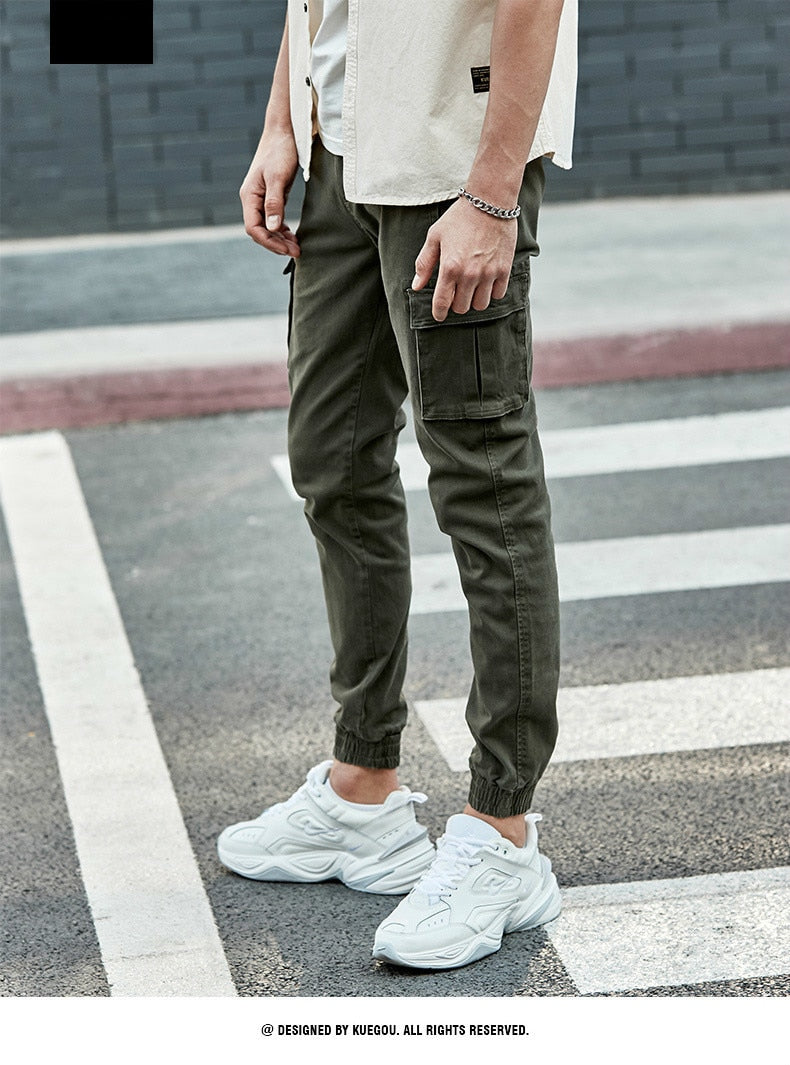 Men Casual Streetwear Hip Hop Joggers For Tactical Long Trousers - Jance Samantha Beauty & Fashion