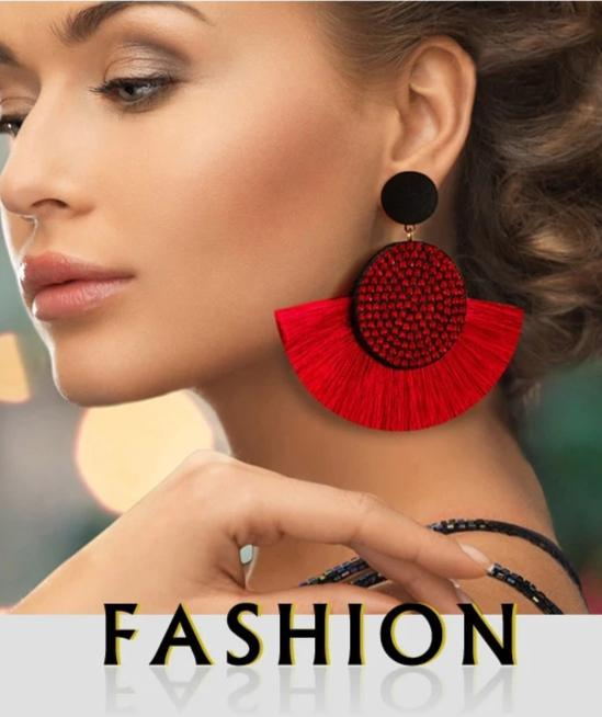 Fashion Bohemia Tassel Earrings Vintage - Jance Samantha Beauty & Fashion
