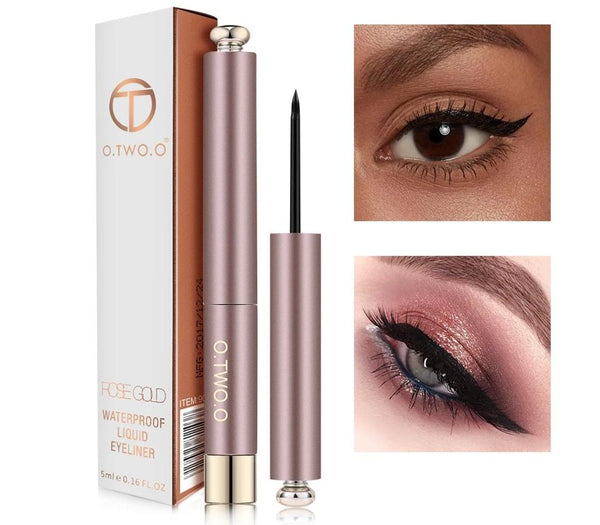 Liquid Eye Liner Waterproof Ultra Fine Brush - Jance Samantha Beauty & Fashion