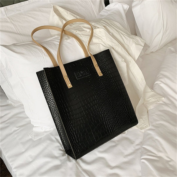 Luxury Crocodile Handbag - Jance Samantha Beauty & Fashion