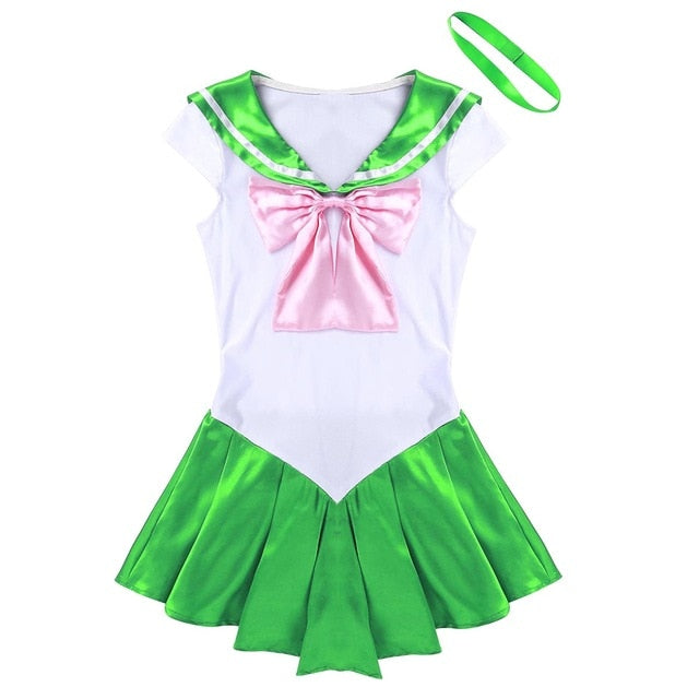 Cosplay Bowknot Dress+Neck Ring Exotic Costume Party Dress - Jance Samantha Beauty & Fashion