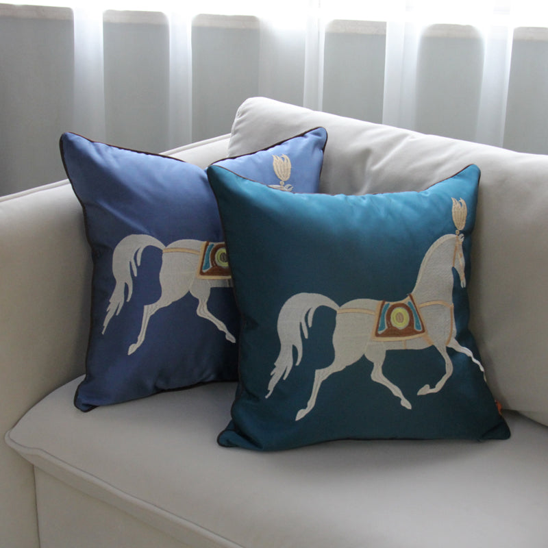 Luxury Simple Horse Embroidery Decorative - Jance Samantha Beauty & Fashion