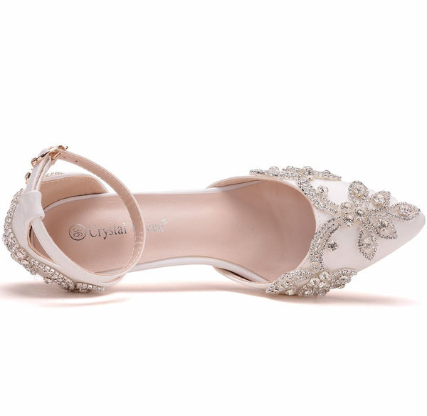 Evening Party Luxury Wedding Shoes - Jance Samantha Beauty & Fashion