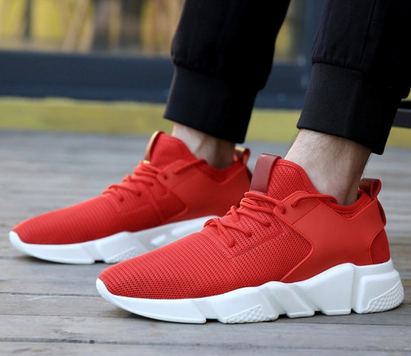 Men Sneakers Breathable Casual Shoes - Jance Samantha Beauty & Fashion