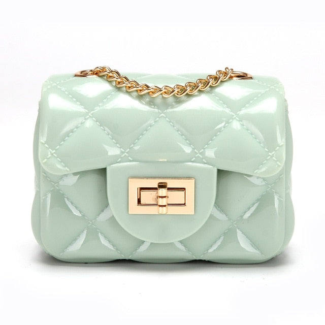 Candy Color Sweet Jelly Messenger Crossbody - Jance Samantha Beauty & Fashion
