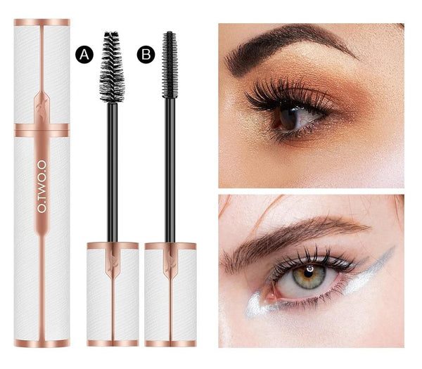 4D Silk Fiber Embossed Leather Curling Mascara - Jance Samantha Beauty & Fashion