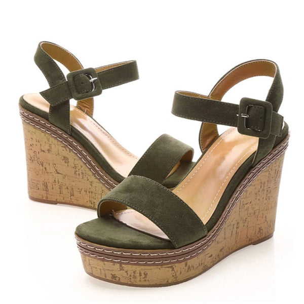 Mouth Toe Wedges - Jance Samantha Beauty & Fashion