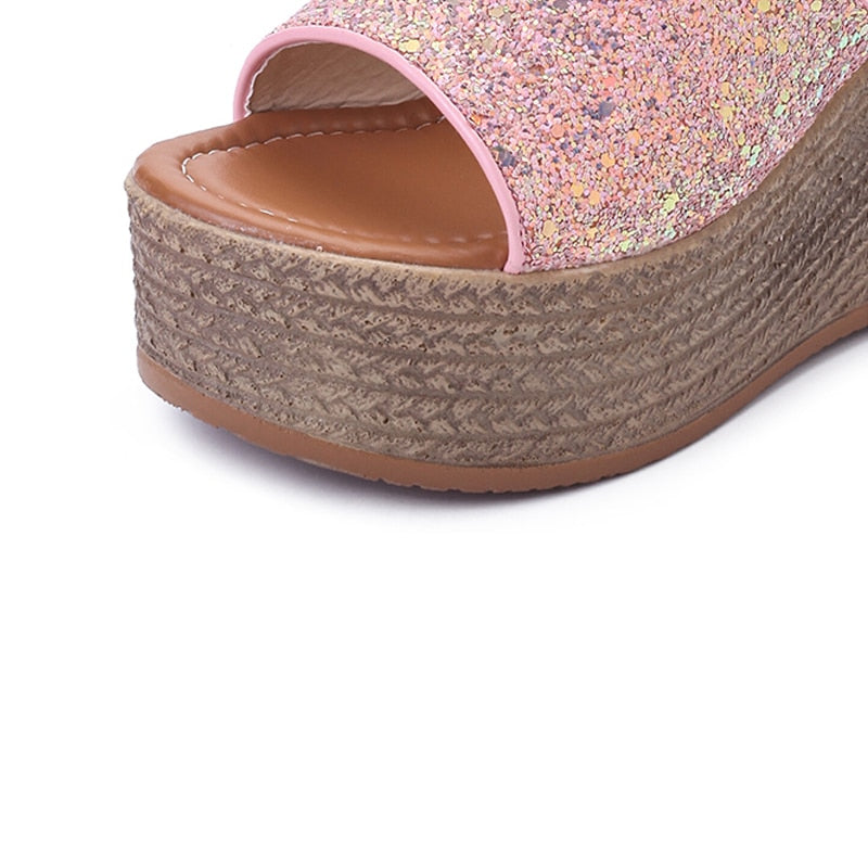 Basic Clog Wedge - Jance Samantha Beauty & Fashion