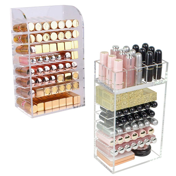 Acrylic Lipstick /Nail Polish Organizer - Jance Samantha Beauty & Fashion