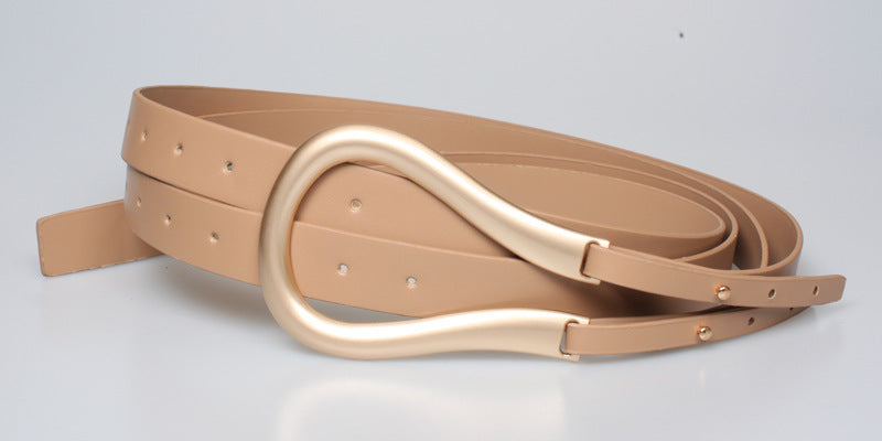Fashion PU Leather Belt - Jance Samantha Beauty & Fashion