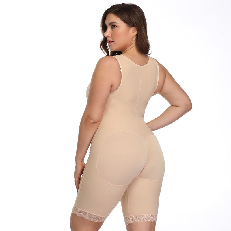 Firm Waist Trainer Tummy Control Overbust Bodysuits - Jance Samantha Beauty & Fashion