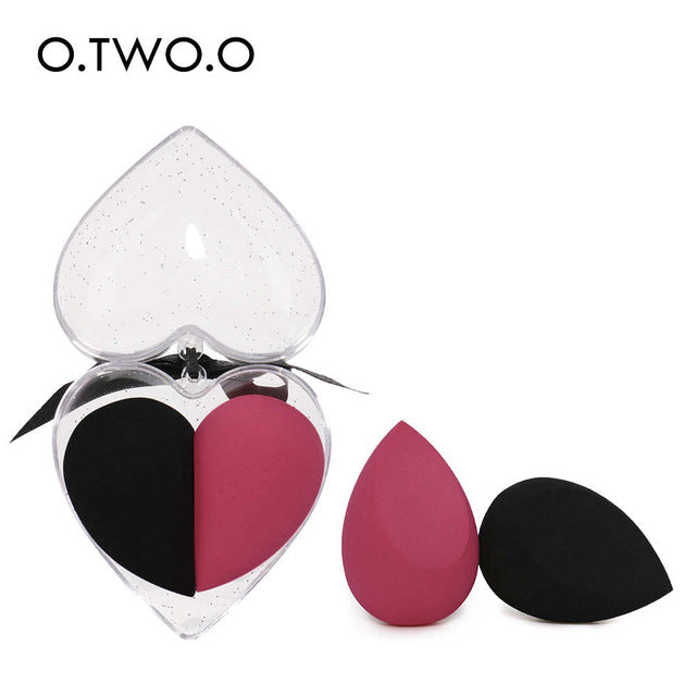 2pcs/set Soft Sponge Makeup Smooth Blending - Jance Samantha Beauty & Fashion