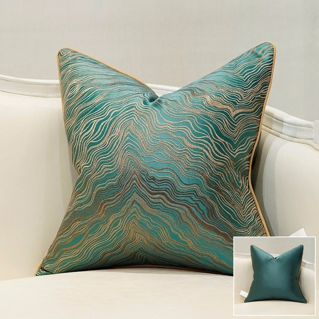 Avigers High Quality Sofa Cushion Cover High Precision Jacquard House Decor Coussin Decorative Pillows Home Luxury - Jance Samantha Beauty & Fashion, LLC