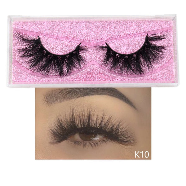 5D Mink Natural Dramatic Volume Eyelashes Extension - Jance Samantha Beauty & Fashion