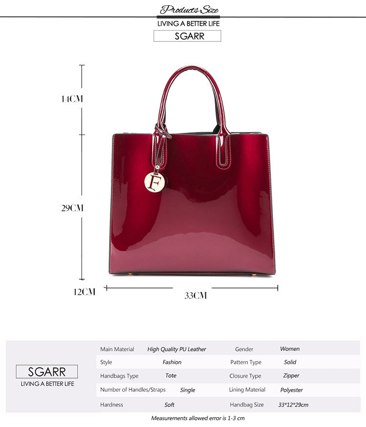 Candy Color Big Casual Tote High Quality - Jance Samantha Beauty & Fashion