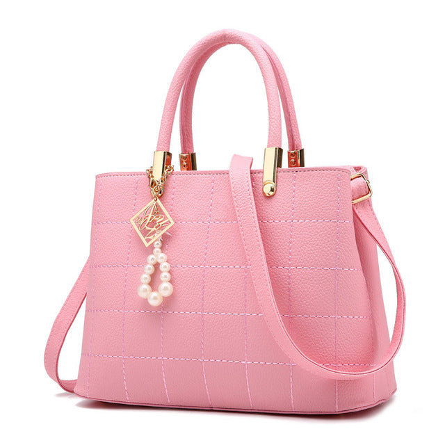 Luxury PU Leather Handbags - Jance Samantha Beauty & Fashion
