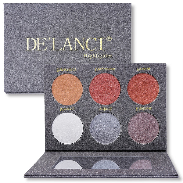 Wet Cream Highlighter Palette - Jance Samantha Beauty & Fashion