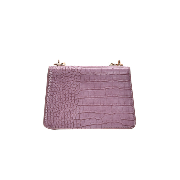 Crocodile Pattern PU Leather Crossbody Bag - Jance Samantha Beauty & Fashion